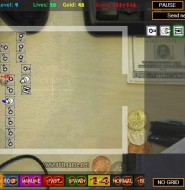 桌面塔防-自由度极高的小塔防游戏
